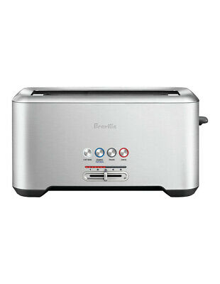 AU169 • Buy Breville The Lift & Look Pro 4 Slice Toaster Brushed Stainless Steel BTA730BSS
