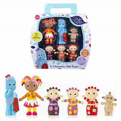 In The Night Garden 6 Figure Gift Pack Includes 3 X Tombliboo Figures Toys 18+ M • 15.78£