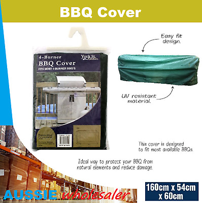 AU16.45 • Buy Au BBQ Cover 4 Burner Outdoor UV Gas Charcoal Barbecue Grill Protector