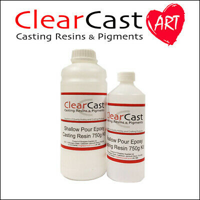 £19.95 • Buy Epoxy Casting Resin Water Clear Jewellery River Tables 750g Kit ClearCast