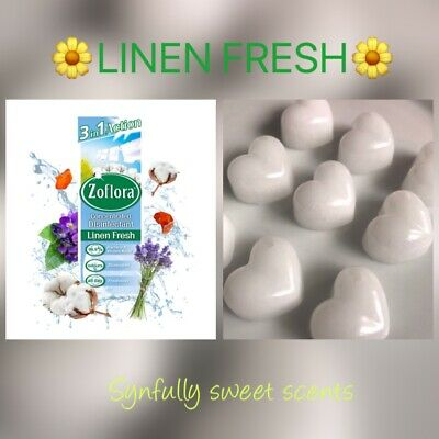 BESTSELLER Fresh Linen Scented Wax Melts. Zoflora Clean Home Scents • 2.10£