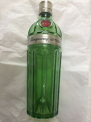 Tanqueray No 10 Distilled Gin EMPTY Bottle 70cl • 4£