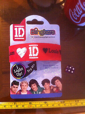 £4.49 • Buy 1D One Direction Blingkers Wrist Band Light Up Claire's Accessories £5.50 RRP