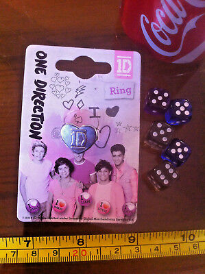 £6.49 • Buy Ring 1D One Direction Ring Claire's Claires Accessories Official £7 RRP