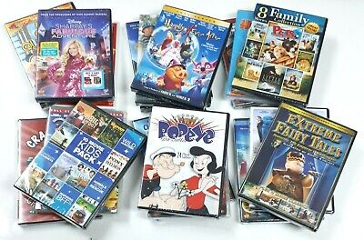 $ CDN42.97 • Buy Lot Of 18 Childrens' Kids' Various DVDs - Variety - New And Sealed