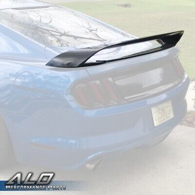 $76.80 • Buy For 2015 - 2019 Ford Mustang Gt350/gt350r Style Rear Trunk Wing Spoiler Primered