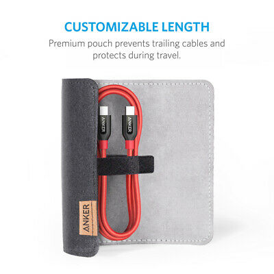 AU35.36 • Buy Anker Powerline+ USB C To USB-C 2.0 Cable Power Delivery PD Charging Hi-Speed 3f