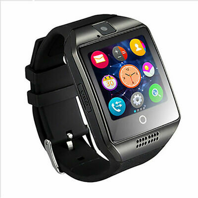 $ CDN16.38 • Buy New Q18 Screen Smart Watch Bluetooth For Android Gift Card Wristwatch Q5Z3