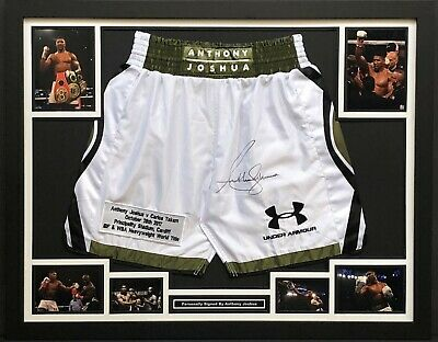 AU720.54 • Buy Anthony Joshua's Shorts, Boxing Memorabilia, Personally Signed