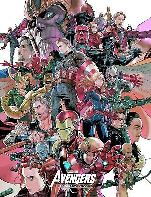 $ CDN9.89 • Buy Fabric Poly Posters #67 2' X 3' Avengers Movie Iron Man End Game Banner Art