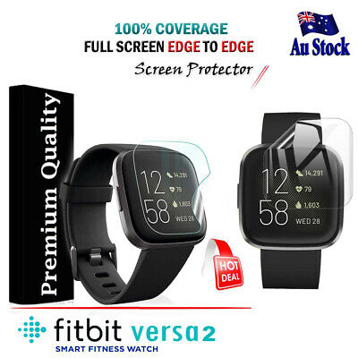 $ CDN4.27 • Buy For Fitbit Versa 2 Ultra Clear Full Coverage Screen Protector Film Guard