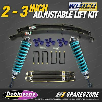 AU1450 • Buy 2 - 3 Inch Dobinsons Adjustable Lift Kit Complete Strut For Nissan Navara D40