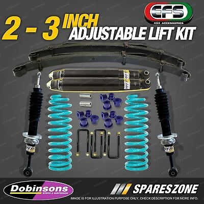 AU1350 • Buy 2 - 3 Inch Adjustable Lift Kit Dobinsons Coil EFS Leaf For Nissan Navara D40