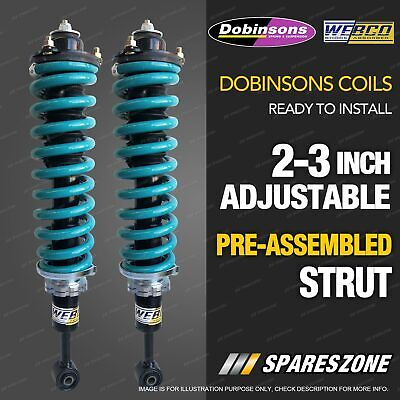 AU780 • Buy Front 2 - 3 Inch Dobinsons Adjustable Strut Lift Kit For Nissan Navara D40