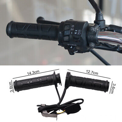 $17.97 • Buy Upgrade Adjustable Motorcycle Handlebar Electric Heated Handle Heating Grips Set