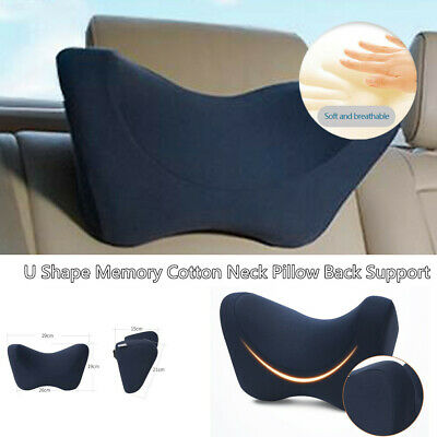 $ CDN28.52 • Buy Auto Side Rest Pillow Memory Foam Car Seat Soft Headrest Neck Support Cushion