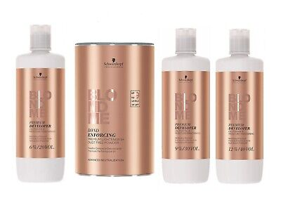 Schwarzkopf BLONDE ME 9+, Premium Care 6% 9% 12% Developer OFFICIAL STOCKIST • 34.66£