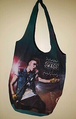 JUSTIN BIEBER SWAGGY Swag TOTE BAG VIP Members Only Reversable With Card • 12.59£