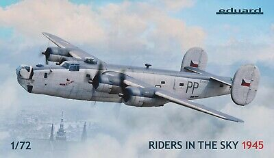 Eduard 2123 1:72nd Scale Riders In The Sky 1945  Liberator GR Mk.VI & GR Mk.VIII • 69.99£