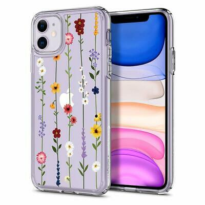 £18.09 • Buy IPhone 11 Flower Garden Pattern Design Case Artsy Abstract Lines Glossy Accents