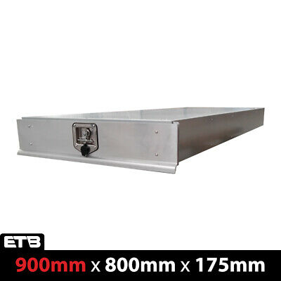 AU650 • Buy Under Tray Tool Box Trundle Drawer 900mm Ute Roller Drawer Dual Cab Extra Cab