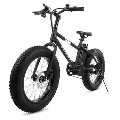 $699.99 • Buy Swagtron EB-6 Mountain E-Bike Power Assist Removable 36V Lithium Ion Battery