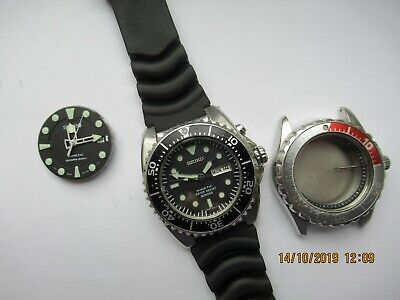 SEIKO 200M Divers Kinetic BFK Modded Dial And Movement With Parts New Capacitor • 280.23$