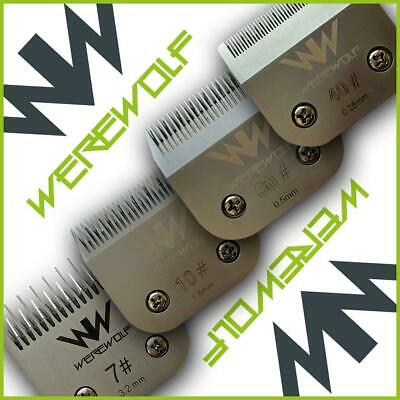 £15.99 • Buy Werewolf Professional Dog Cat Pet Clipper Blades Fits Oster, Andis, Sure Clip