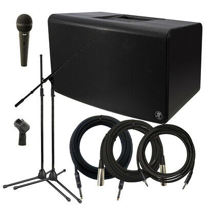 $509.99 • Buy Mackie FreePlay Live Personal PA System STAGE ESSENTIALS BUNDLE