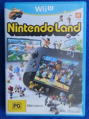 AU12.50 • Buy Wii U - Nintendo Land - Very Good Condition Including Quick Guide