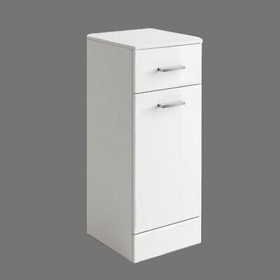 £84.99 • Buy Bathroom Laundry Storage Cabinet Cloakroom Cabinet Furniture 300 X 330mm White