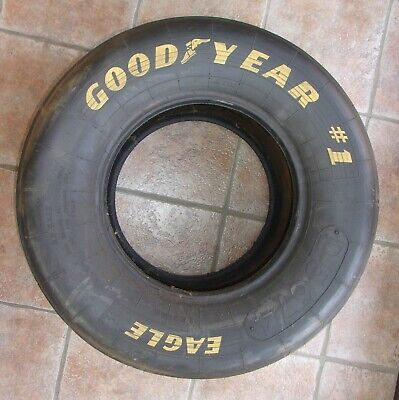 Goodyear #1 Eagle Race Slick 27.5 X 12 0-15 Maybe Just For Decoration • 39$