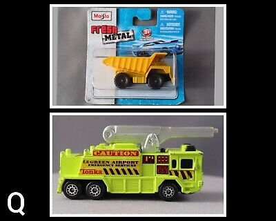 $10 • Buy {Q} Maisto Fresh Metal Dump Truck/ Crash Tender Airport Emergency Services Green
