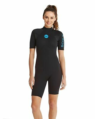 View Details ROXY™ Womens Syncro Base 2/2mm Short Sleeve Springsuit Wetsuit Womens Surf • 50.00AU