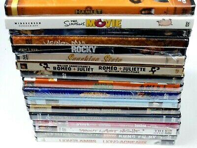 $ CDN44.97 • Buy Lot Of 17 Various DVDs - Variety - New And Sealed (Plastic Wrap Ripped On 7)