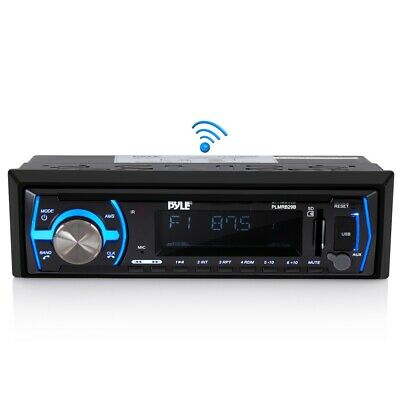 $68.80 • Buy Marine Boat Bluetooth Car Truck Stereo Radio Am/fm Receiver Mp3 Player Usb