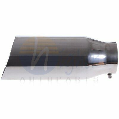 $ CDN79.89 • Buy Roll Edge  Exhaust Tip 18 Long Polished 5  Inlet - 7  Outlet Bolt On Stainless