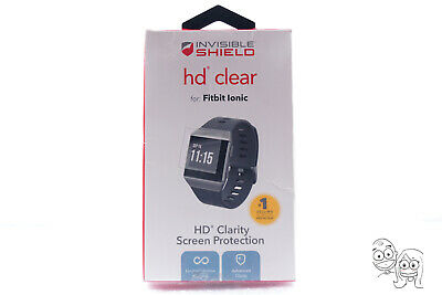 $ CDN10.42 • Buy OEM ZAGG InvisibleShield HD Clear Screen Protector For Fitbit Ionic (OB NEW)