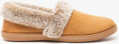Skechers COZY CAMPFIRE-TEAM TOASTY Ladies Womens House Full Slippers Chestnut • 32£