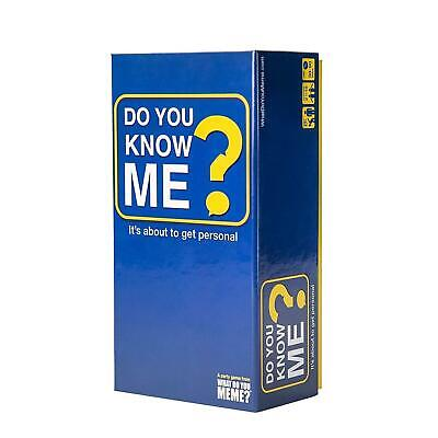 AU39.99 • Buy 331152 What Do You Meme? Do You Know Me? Time To Get Personal Adults Card Game