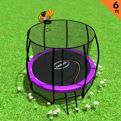 AU566.65 • Buy Kahuna Classic 6ft Trampoline With Basketball Set - Purple