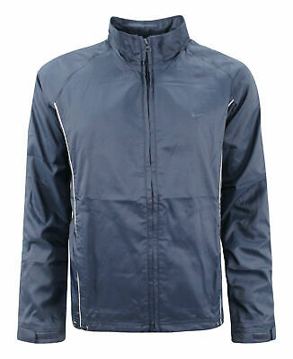 Nike Track Top Zip Up Jacket Womens Navy Windrunner 262783 455 Y17A • 14.99£