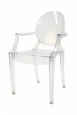 AU79 • Buy Replica Philippe Starck Louis Ghost Arm Chair   Clear Transparent