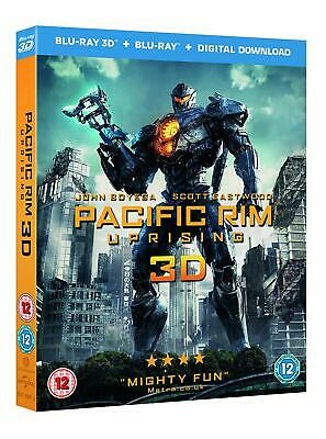 $16.79 • Buy Pacific Rim - Uprising (3D + 2D Blu-ray, 2 Discs, Region Free) *NEW/SEALED*