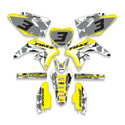 $159.99 • Buy 1999 - 2000 Suzuki Rm 250 Graphics Kit Decals Dirtbike Mx Motocross Rm250 Deco