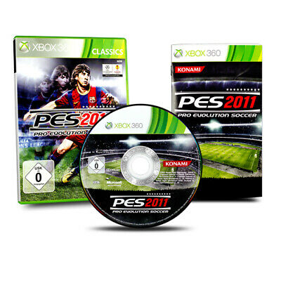 AU6.12 • Buy Xbox 360 Game Pro Evolution Soccer 2011 In Original Packaging With Guide