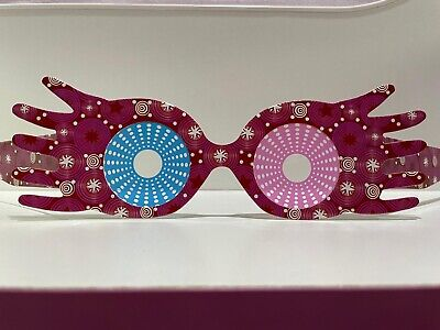 HP⚡ Luna Lovegood Pink Spectre Specs Glasses. NEW And Exclusive! UK Seller 🇬🇧 • 3.99£