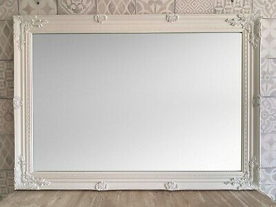 £79.95 • Buy STUNNING WHITE EXTRA LARGE WALL MIRROR - 30  X 42  (75 X 105 Cm) -Superb Quality