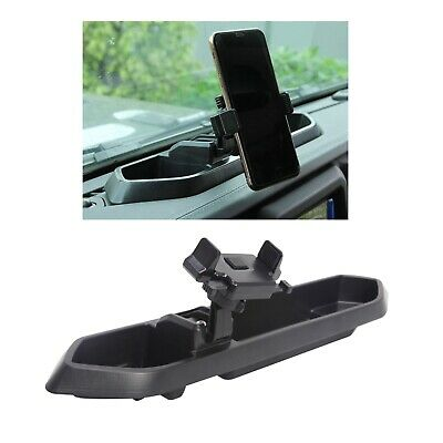 $26.99 • Buy Car Mount Phone Holder Storage Box For JL Jeep Wrangler Accessories Smartphone