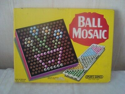 Vintage Spears Games BALL MOSAIC Boxed • 6.99£